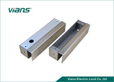 Stainless Steel Electric Bolt Lock Kurung Untuk Glass Door Mounting Dengan Bingkai